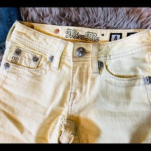 Miss Me jean shorts Girls Size 8